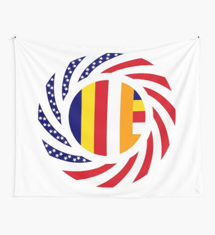 Buddhist Murican Patriot Flag Series Wall Tapestry