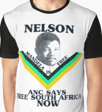 ANC SAYS FREE SOUTH AFRICA NOW Graphic T-Shirt