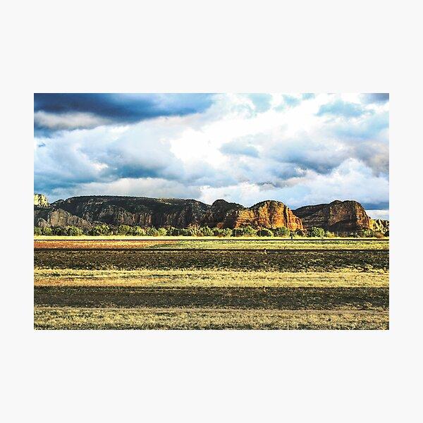 Sedona Airport Lookout Mountain Photographic Print