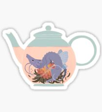 Blooming Tea Dragon Sticker
