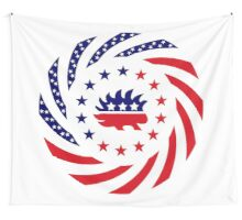 quotlibertarian murican patriot flag seriesquot stickers by