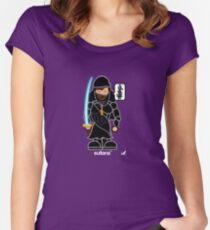 AFR Superheroes #06 - Sultana Women's Fitted Scoop T-Shirt