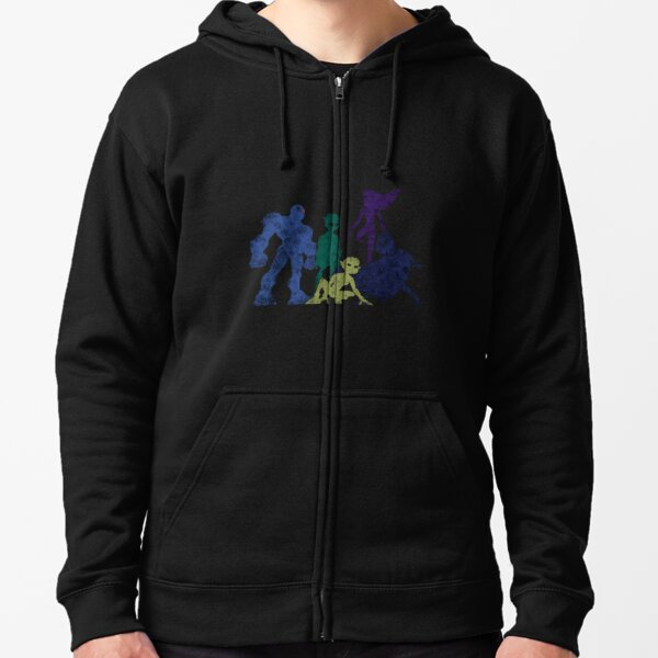 Teen Titans Color Zipped Hoodie
