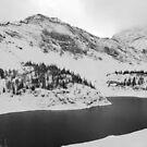 Lower Galatea Lake (IR effect) by zumi