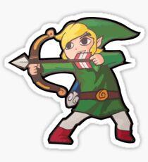 Crouching Bow Hidden Link Sticker
