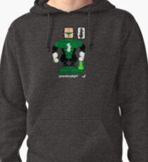 AFR Superheroes #08 - Green Lamplight Pullover Hoodie