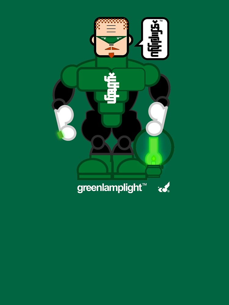 AFR Superheroes #08 - Green Lamplight by afrenasia