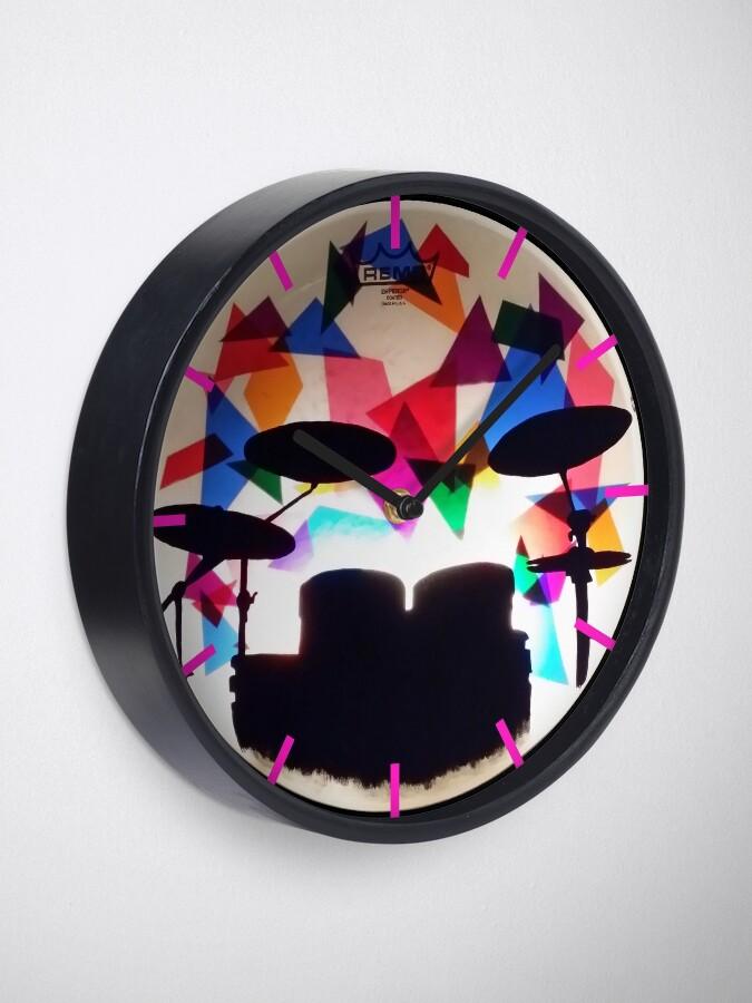 Alternate view of Drum Solo Clock
