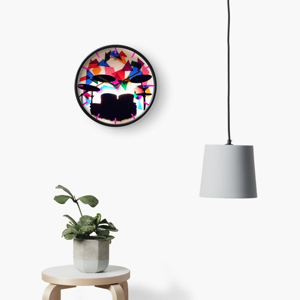 Drum Solo Clock