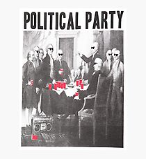 Political Party Shades & Red Cups Photographic Print