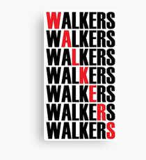 Walkers Canvas Print