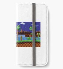 Green Hill Zone Vintage iPhone Wallet/Case/Skin