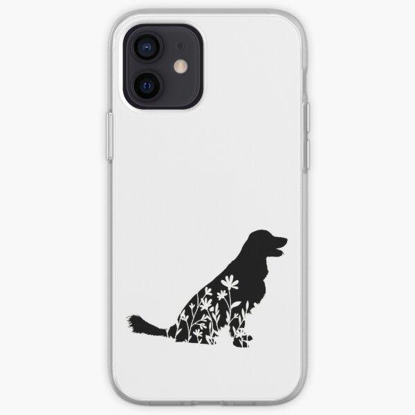 Golden Retriever Flower Lover Doggo Gift iPhone Soft Case