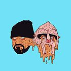Ghostface Killah & MF Doom by adroid104