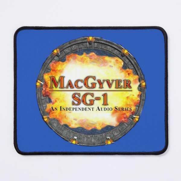 MacGyver SG-1 Logo Mouse Pad