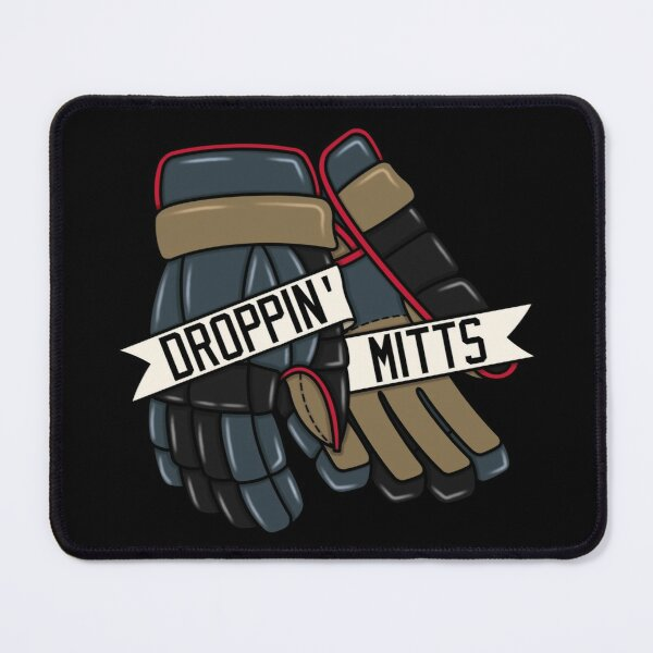 Droppin Mitts - Las Vegas Ice Hockey Mouse Pad