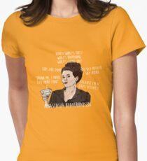 KAREN WALKER WILL & GRACE QUOTES Womens Fitted T-Shirt