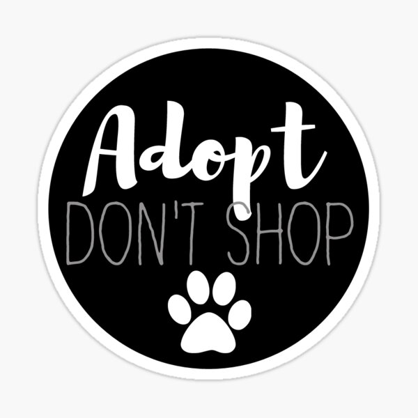 "1-4/"" Cat Paw Print Decal Sticker Adopt a Dog Save a Life 2145"