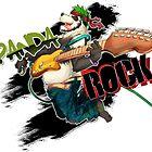Panda Rock!! by MinosArt