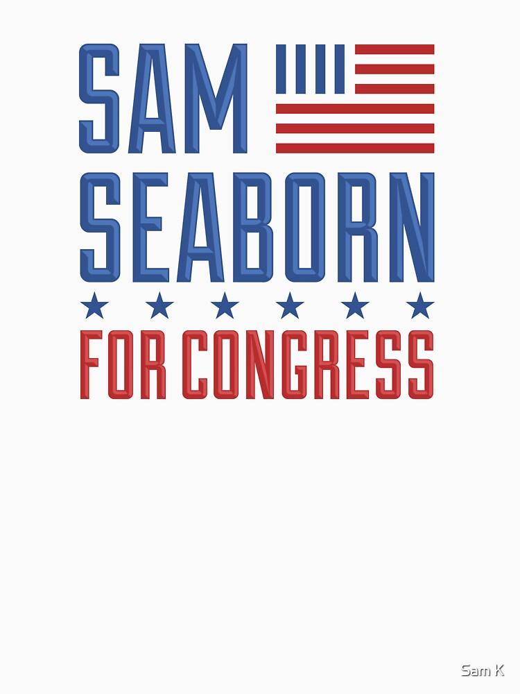 Sam Seaborn For Congress by samkrauser