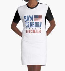 Sam Seaborn For Congress Graphic T-Shirt Dress