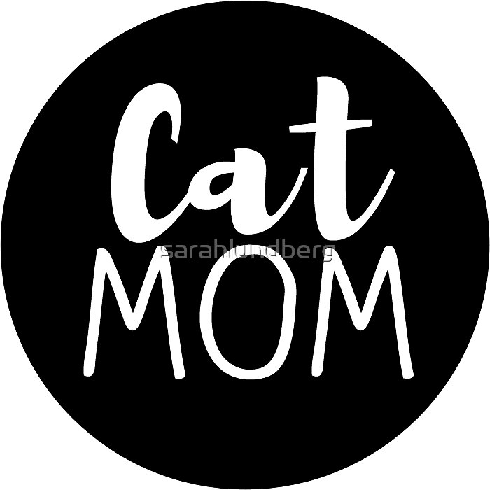 Mom Dad  Kids Dog And Cats Sticker
