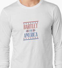 Bartlet für Amerika Langarmshirt