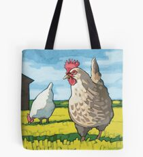Hens Tote Bag
