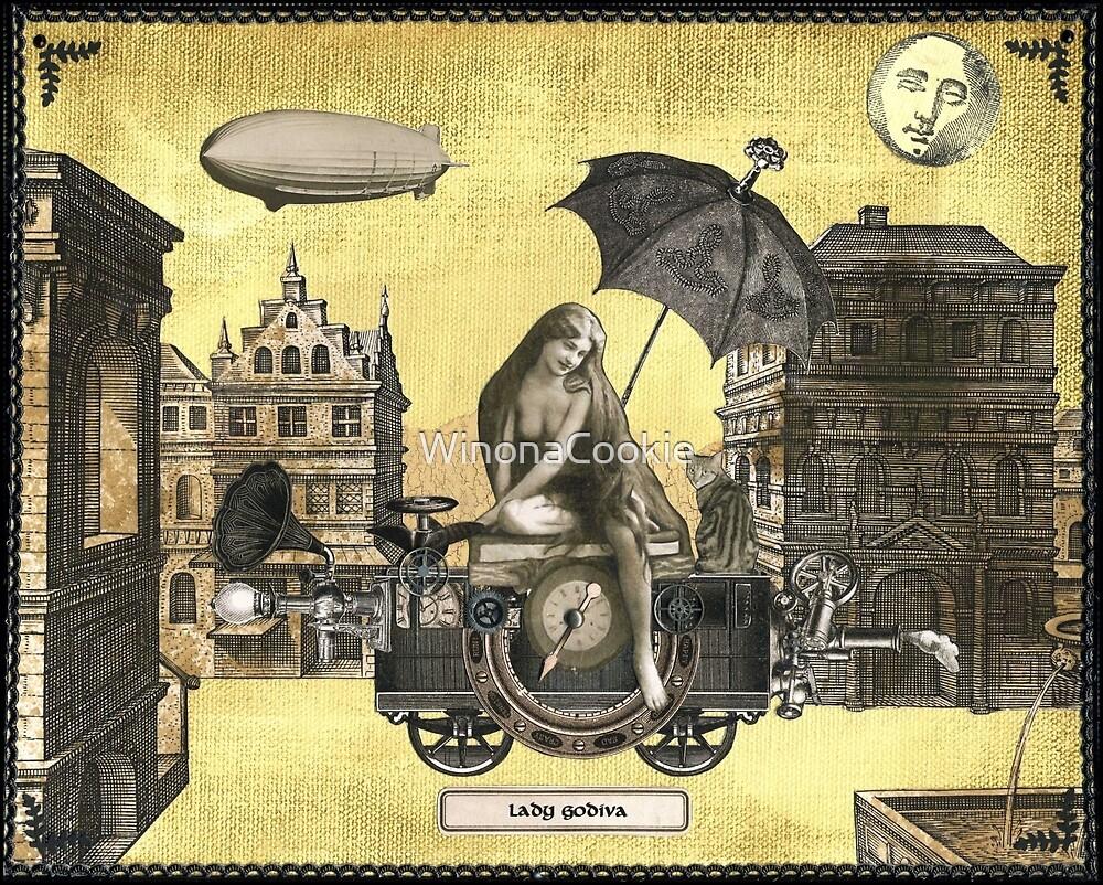 Steampunk Lady Godiva by WinonaCookie