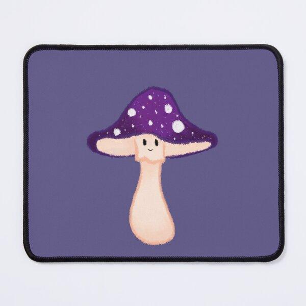 Purple Amanita Muscaria Mushroom  Mouse Pad