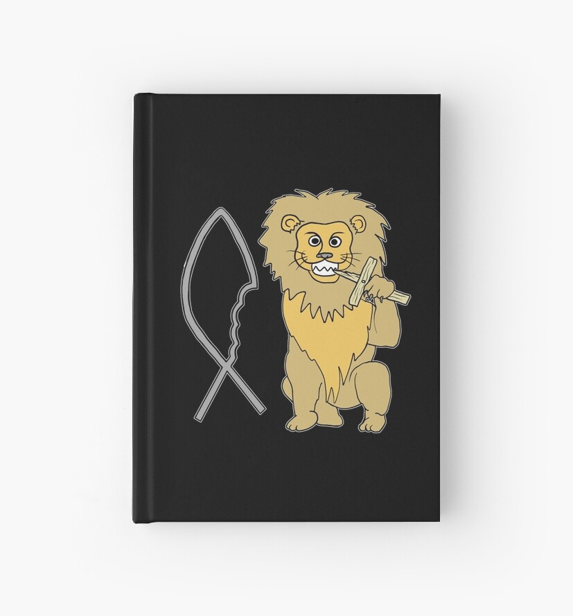 feed them to the lions by Octochimp Designs