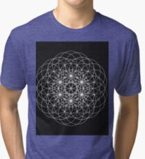 Sacred Geometry  Tri-blend T-Shirt