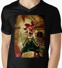 roronoa zoro Men's V-Neck T-Shirt
