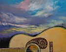 Sunset Guitar by Michael Creese