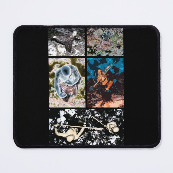 Shaolin Monks Mouse Pad