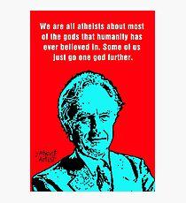 Richard Dawkins atheist Photographic Print