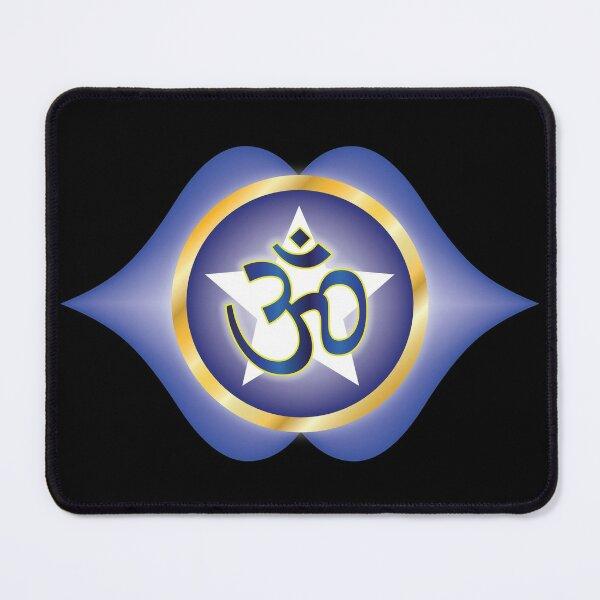 Ajna Chakra (AUM Vibration) Mouse Pad