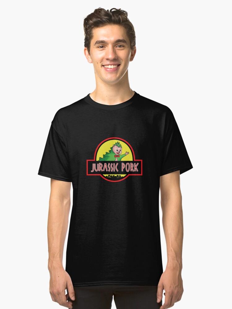 Jurassic Pork Classic T-Shirt Front