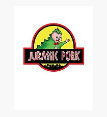Jurassic Pork Photographic Print