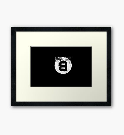 Super 8 Framed Print