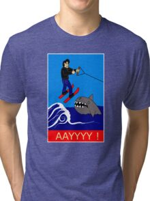 Jumping the Shark Tri-blend T-Shirt