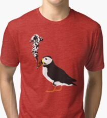Puffin puffin on a cigar Tri-blend T-Shirt
