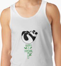 Balance Is Everything! Tumbling panda. Tank Top