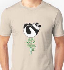 Balance Is Everything! Tumbling panda. Unisex T-Shirt
