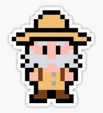 Pixel Sabreman Sticker