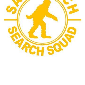 Sasquatch, bigfoot  by bentoz
