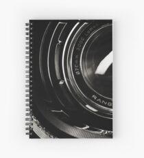 Headlamp detail of a Range Rover SVR Spiral Notebook