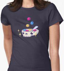Pixels for Breakfast Logomark Women's Fitted T-Shirt
