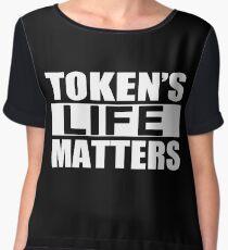 Tokens Life Matters Chiffon Top