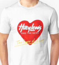 Huey Lewis et les nouvelles - Le pouvoir de l'amour T-shirt unisexe